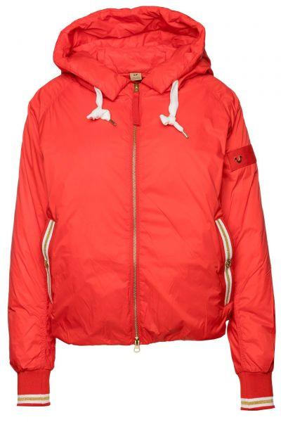 Bomberjacke Light Weight Down in Rot