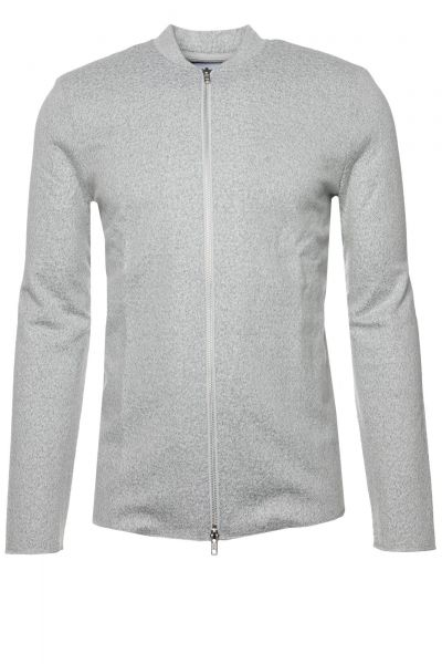 Sweatjacke Sells in Grau
