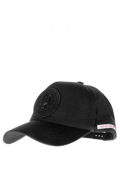 Cap in Schwarz
