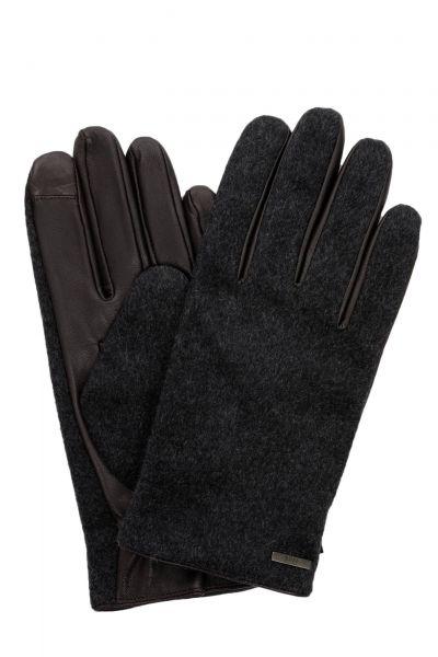 Handschuhe Hebold-TT in Dunkelbraun