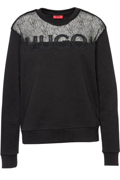 Sweatshirt Nicta in Schwarz