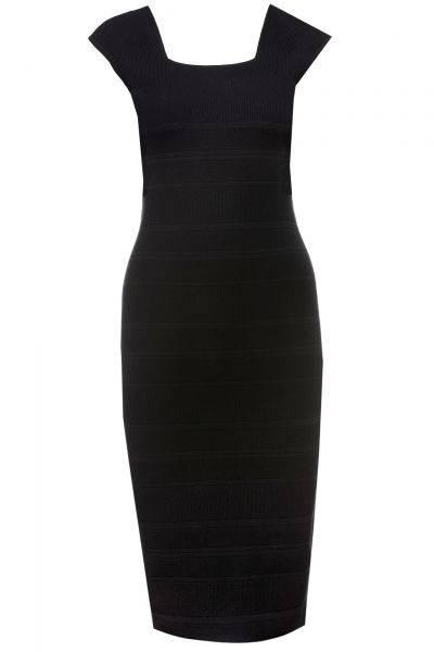 Kleid Finamica in Schwarz