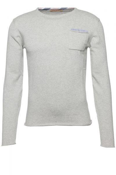 Pullover in Grau