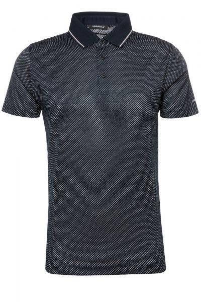 Poloshirt Button in Dunkelblau