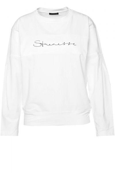 Sweatshirt Teskana in Weiß