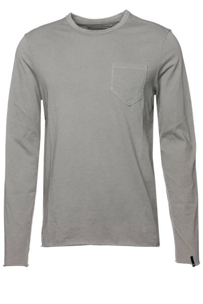 Langarmshirt True in Grau