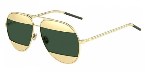 Sonnenbrille Diorsplit1 in Grün