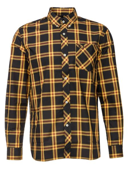 Hemd L/S Tartan Shirt in Gelb