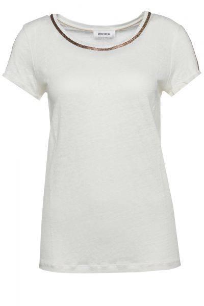 T-Shirt Gina Tee in Naturweiß