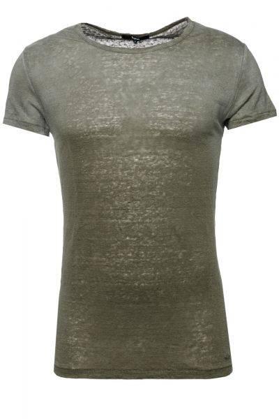T-Shirt Yang in Oliv