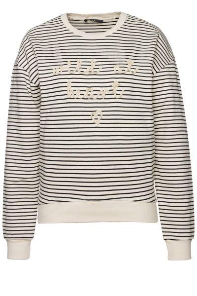 Sweatshirt in Weiß