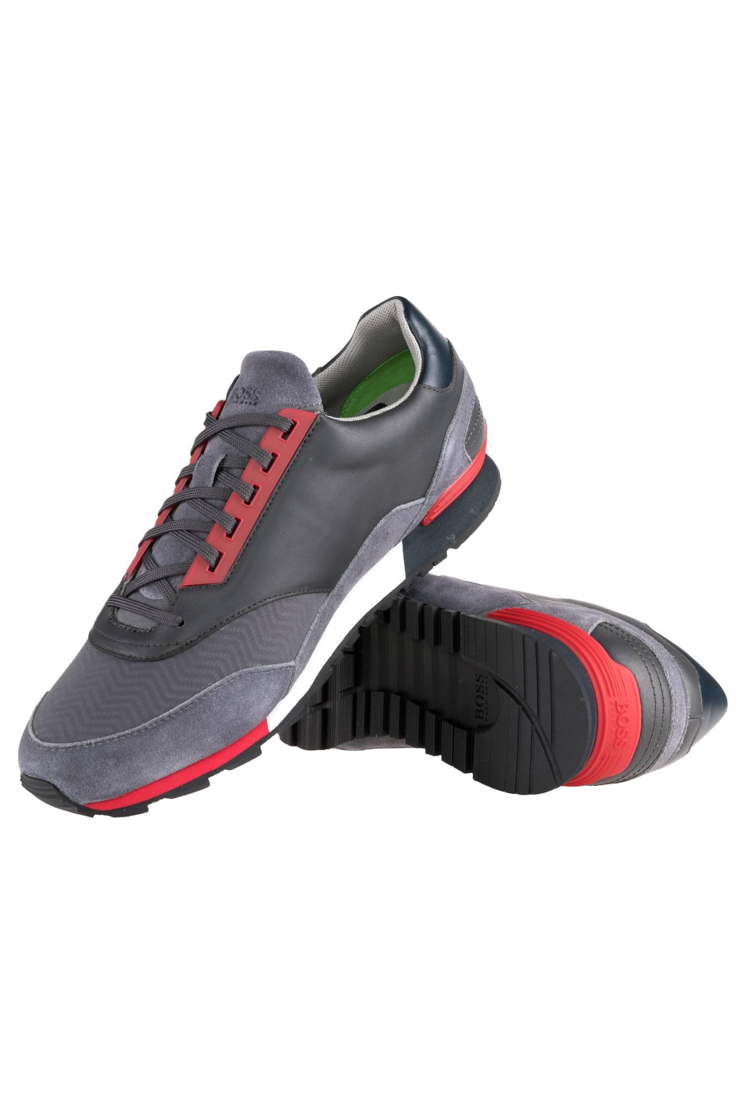 Billig gute Qualität BOSS Green Sneaker Zephir_Runn_track