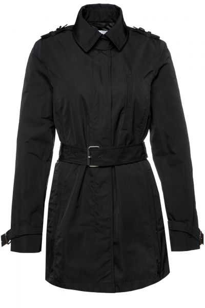 Trenchcoat Cirolie in Schwarz