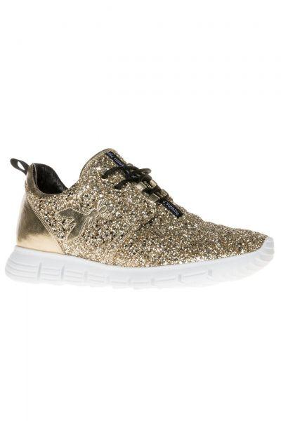 Glitzer-Sneaker in Gold