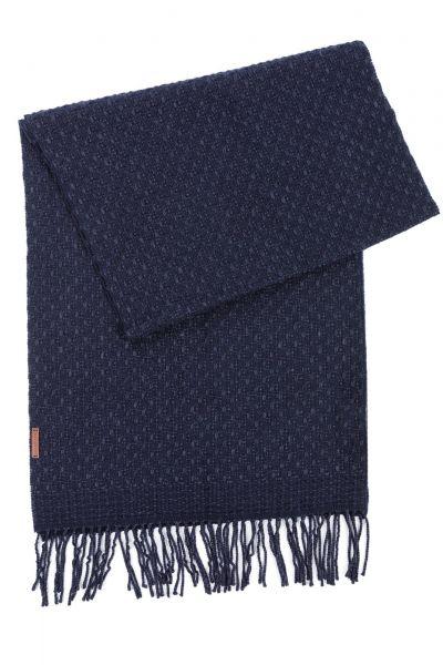 Schal in Dunkelblau