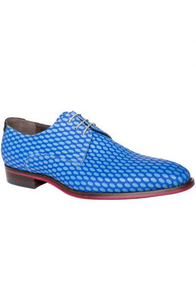 Schnürschuhe in Blau