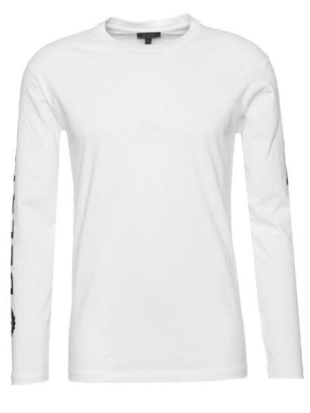 Langarmshirt Bratton in Weiß
