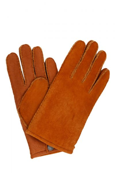 Handschuhe T-Hewon in Dunkelbraun