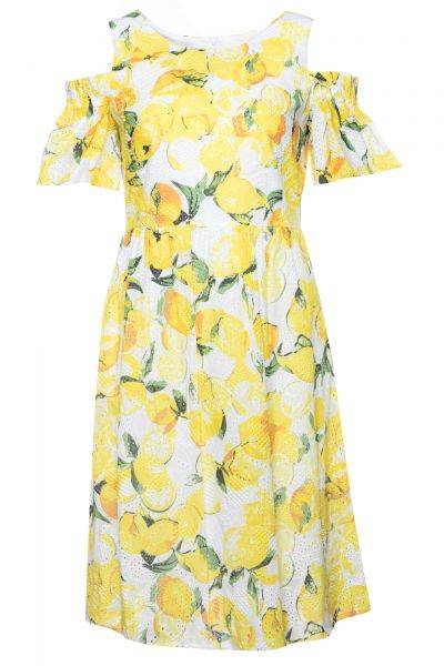 Kleid Alemy1 in Mehrfarbig