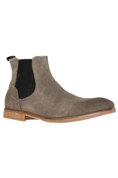 Chelsea Boots Watchley Suede in Grau