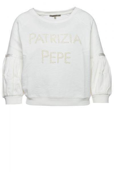 Sweatshirt Felpa in Weiß