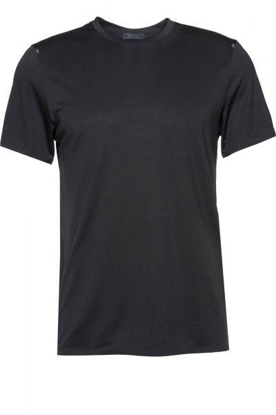 T-Shirt Flux in Schwarz