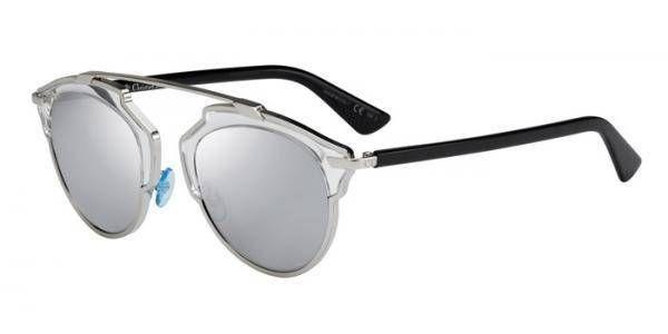 Sonnenbrille Diorsoreal in Silber