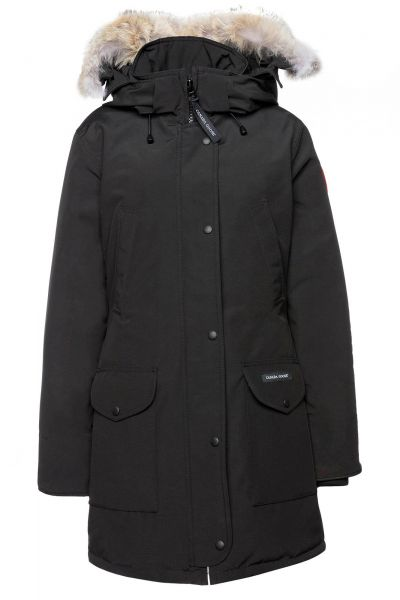 Parka Ladies Trillium in Schwarz