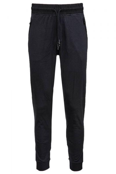 Jogginghose Long Pant Cuffs in Schwarz