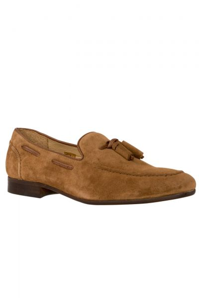 Slipper Pierre Suede in Braun