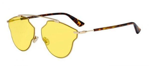 Sonnenbrille Diorsorealpop in Gelb