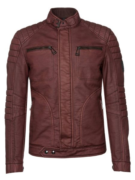 Bikerjacke New Weybridge in Rot