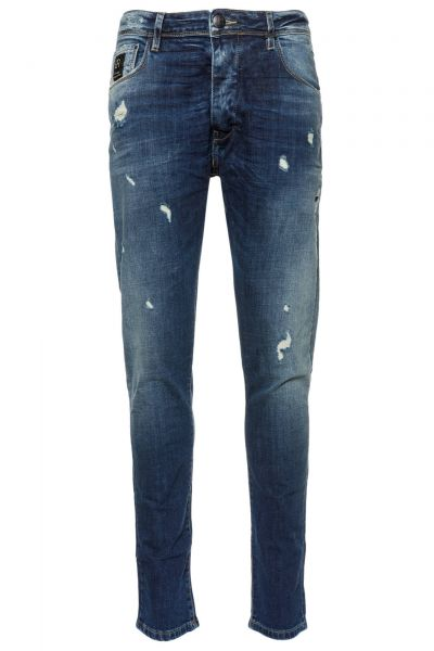 Jeans Antony Tapered Fit in Dunkelblau