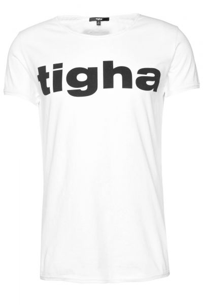 T-Shirt Tigha Logo MSN in Weiß