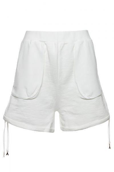 Sweatshorts Felpa in Weiß