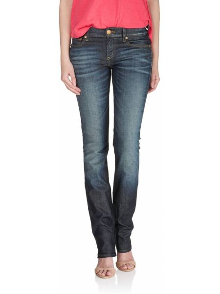 Jeans Cora in Mehrfarbig ED72: