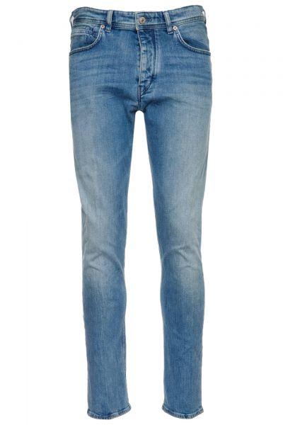 Jeans Lead in Blau