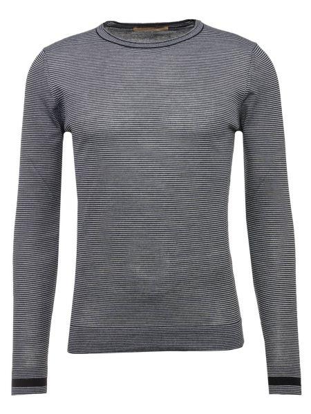 Pullover Girocollo in Grau