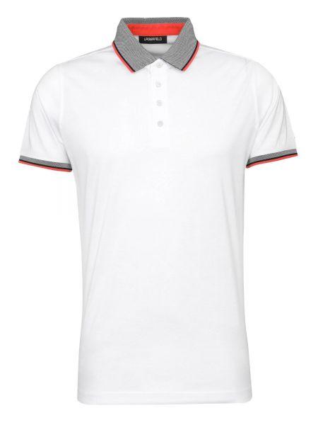 Poloshirt Polo Button in Weiß