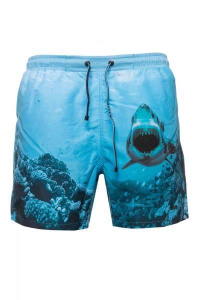 Badeshorts Swordfish in Blau