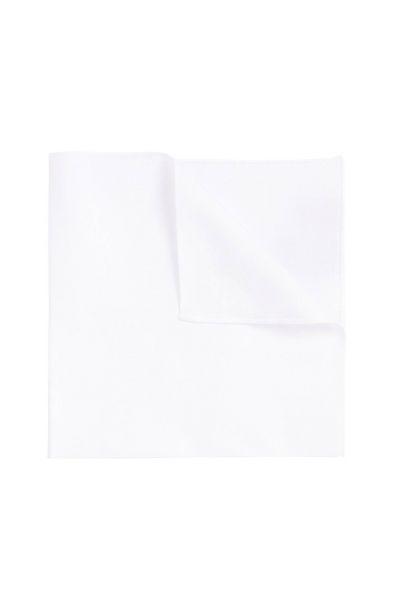Einstecktuch in Weiß