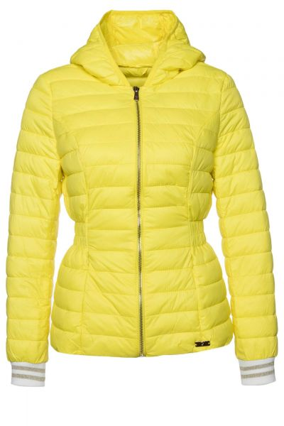 Steppjacke Poly-Down in Gelb