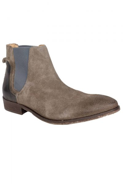 Chelsea Boots Fawley Suede in Grau