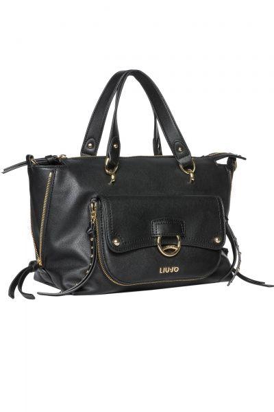 Shopper Boston Bag in Schwarz