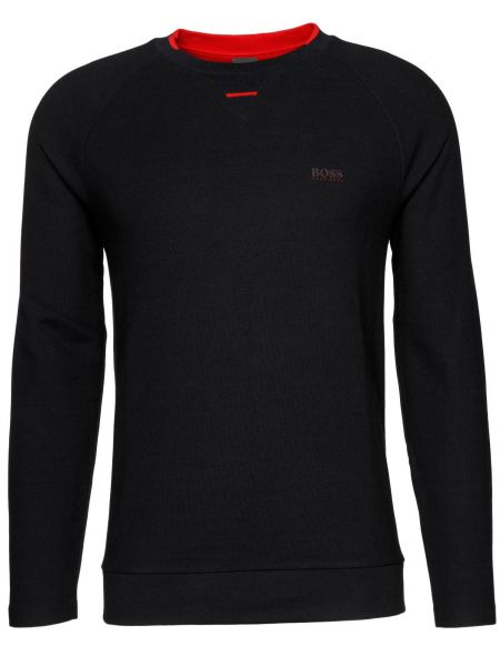 Sweatshirt Sless in Schwarz