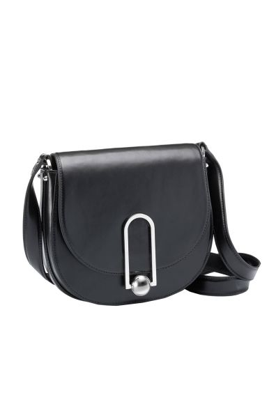 Tasche Uptown Saddle Bag in Schwarz