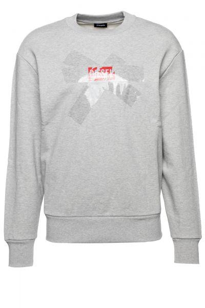 Sweatshirt S-Bay-Sa in Grau