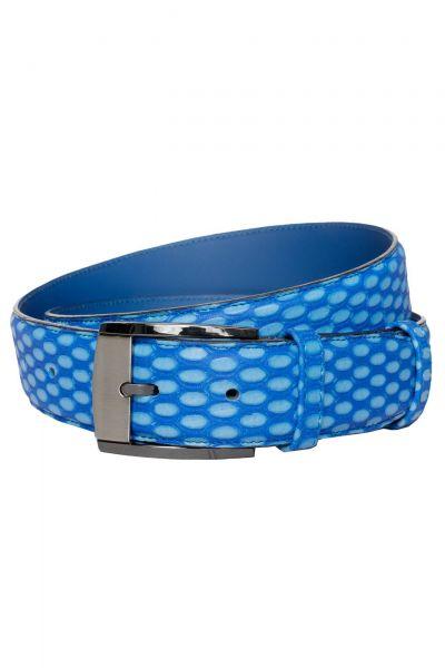 Gürtel in Blau