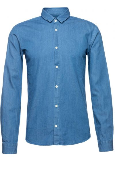 Jeanshemd Ero3-W in Blau