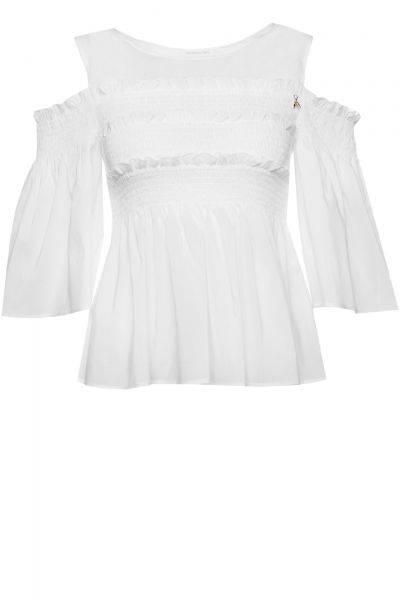Bluse Camicia in Weiß